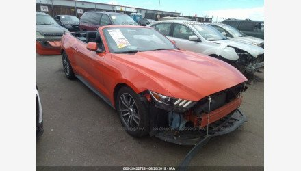 2016 Ford Mustang Convertible for sale 101192596