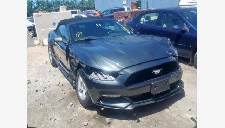 2016 Ford Mustang Convertible for sale 101193117