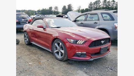 2016 Ford Mustang Convertible for sale 101194350