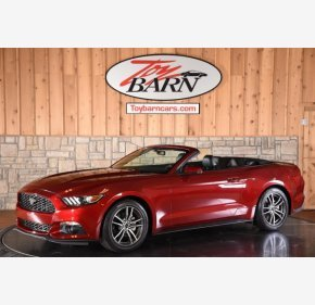 2016 Ford Mustang Convertible for sale 101207663