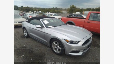 2016 Ford Mustang Convertible for sale 101220950