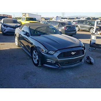 2016 Ford Mustang Convertible for sale 101224340