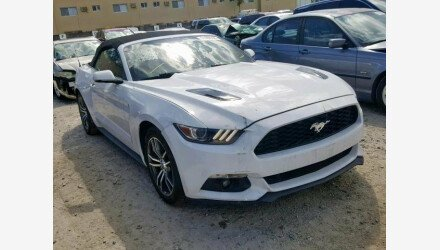 2016 Ford Mustang Convertible for sale 101225802