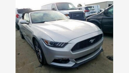 2016 Ford Mustang Convertible for sale 101285373