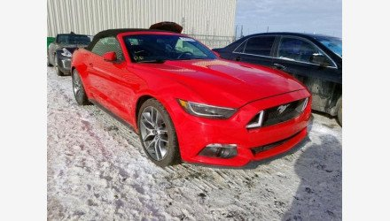 2016 Ford Mustang Convertible for sale 101287726