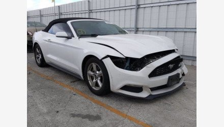 2016 Ford Mustang Convertible for sale 101360729
