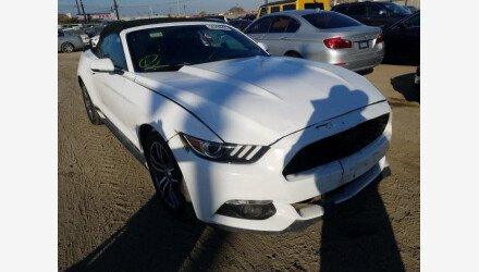 2016 Ford Mustang Convertible for sale 101408188