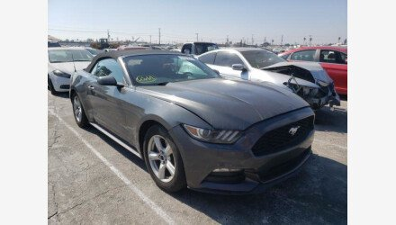 2016 Ford Mustang Convertible for sale 101410481