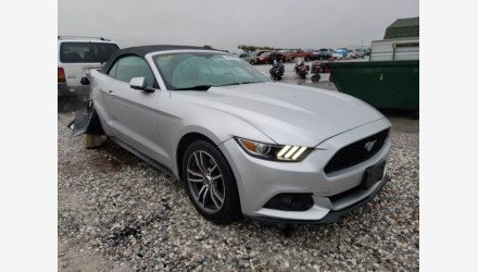 2016 Ford Mustang Convertible for sale 101412471