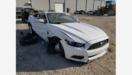 2016 Ford Mustang Convertible for sale 101489747
