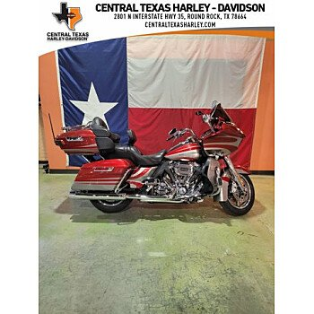 2016 Harley-Davidson CVO for sale 201109199