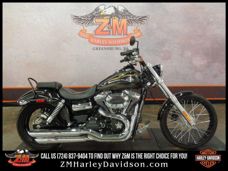 2016 Harley-Davidson Dyna for sale 201166804