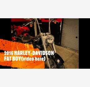 2016 Harley-Davidson Softail for sale 201030626