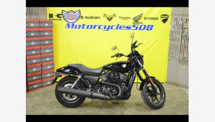 2016 Harley-Davidson Street 750 for sale 200665367