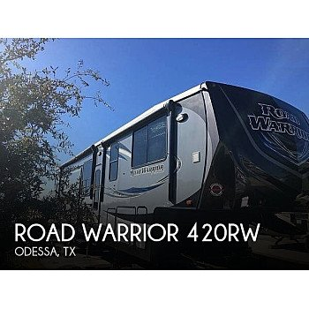 2016 Heartland Road Warrior for sale 300211130