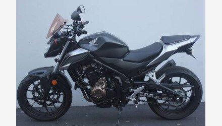 2016 Honda CB500F for sale 200711457