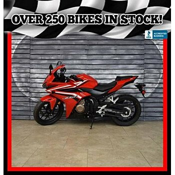 2016 Honda CBR500R for sale 200629511