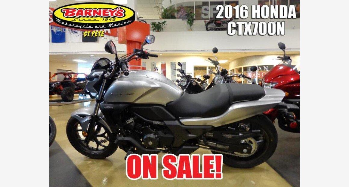 2016 Honda CTX700N for sale 200600432