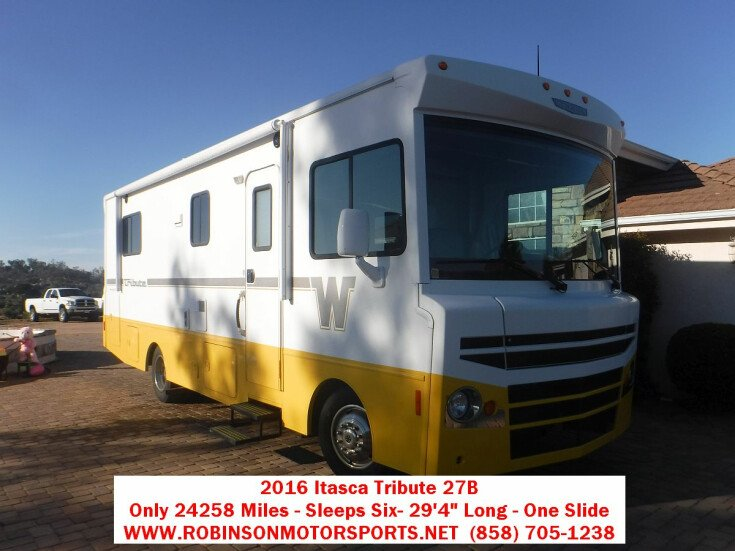 2016 Itasca Tribute 27B for sale 300299616