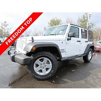 2016 Jeep Wrangler 4WD Unlimited Sport for sale 101093110