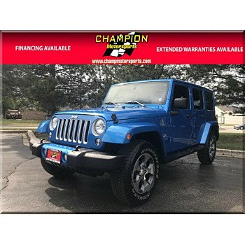 2016 Jeep Wrangler 4WD Unlimited Sahara for sale 101010100