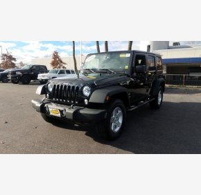 2016 Jeep Wrangler 4WD Unlimited Sport for sale 101059151