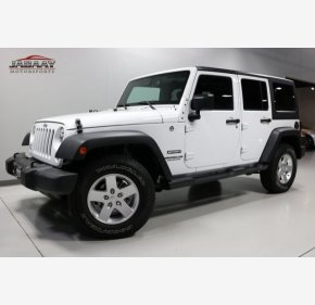 2016 Jeep Wrangler 4WD Unlimited Sport for sale 101060734