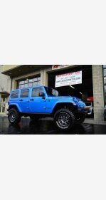 2016 Jeep Wrangler 4WD Unlimited Rubicon for sale 101071765