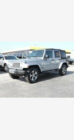 2016 Jeep Wrangler 4WD Unlimited Sahara for sale 101096251