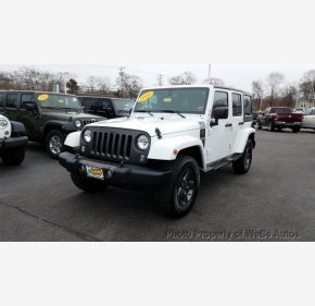 2016 Jeep Wrangler 4WD Unlimited Sport for sale 101097902