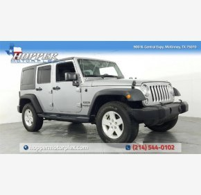 2016 Jeep Wrangler 4WD Unlimited Sport for sale 101105070