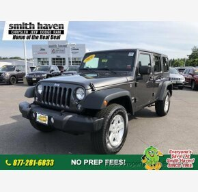 2016 Jeep Wrangler 4WD Unlimited Sport for sale 101180000