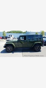 2016 Jeep Wrangler 4WD Unlimited Sahara for sale 101180001