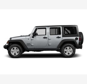 2016 Jeep Wrangler 4WD Unlimited Sport for sale 101186321
