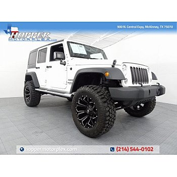 2016 Jeep Wrangler 4WD Unlimited Sport for sale 101188989