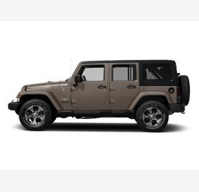 2016 Jeep Wrangler 4WD Unlimited Sahara for sale 101189041