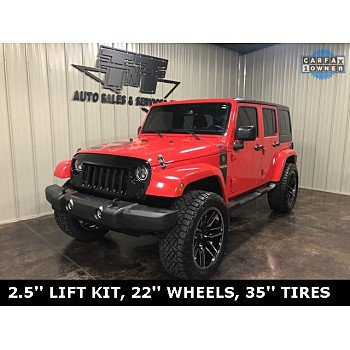 2016 Jeep Wrangler 4WD Unlimited Sport for sale 101208079