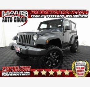2016 Jeep Wrangler 4WD Sport for sale 101209489