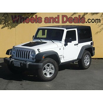 2016 Jeep Wrangler 4WD Sport for sale 101210263