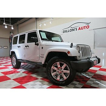 2016 Jeep Wrangler 4WD Unlimited Sahara for sale 101215605