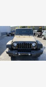 2016 Jeep Wrangler 4WD Sport for sale 101215979