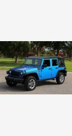 2016 Jeep Wrangler 4WD Unlimited Sport for sale 101218919