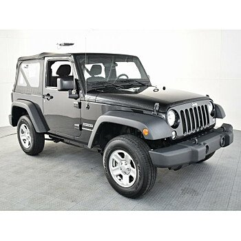 2016 Jeep Wrangler 4WD Sport for sale 101236157