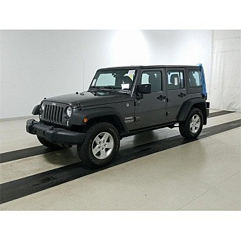 2016 Jeep Wrangler 4WD Unlimited Sport for sale 101238178