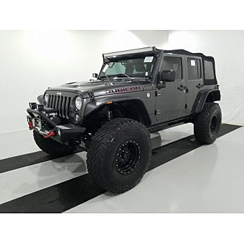 2016 Jeep Wrangler 4WD Unlimited Rubicon for sale 101238181