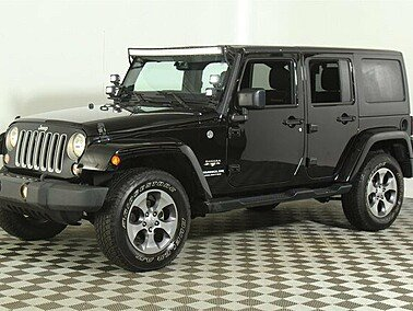 2016 Jeep Wrangler 4WD Unlimited Sahara for sale 101241932