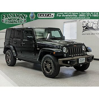 2016 Jeep Wrangler 4WD Unlimited Sahara for sale 101242079