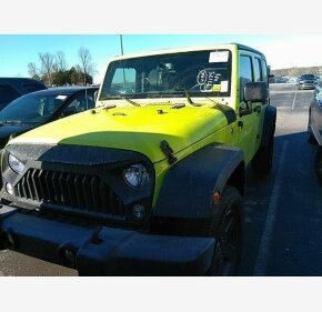 2016 Jeep Wrangler 4WD Unlimited Sport for sale 101246047