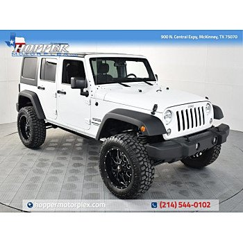 2016 Jeep Wrangler 4WD Unlimited Sport for sale 101249557