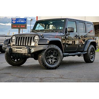 2016 Jeep Wrangler 4WD Unlimited Sahara for sale 101251661